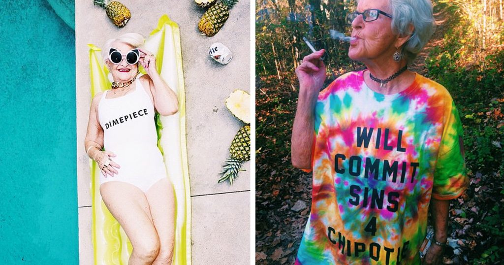 Forget Kim Kardashian, This 86-Year Old Granny-Model Is The Real Instagram Queen