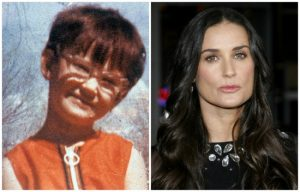 Hollywood celebrities then and now