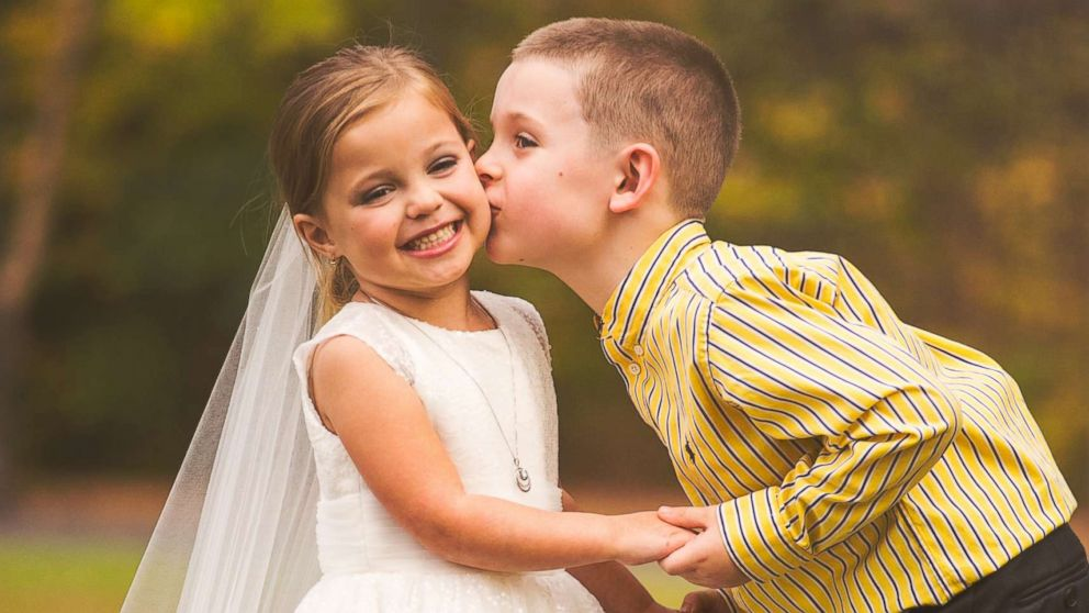 5-Year-Old Getting Her Dream Wedding Photo Shoot Will Leave You In Tears