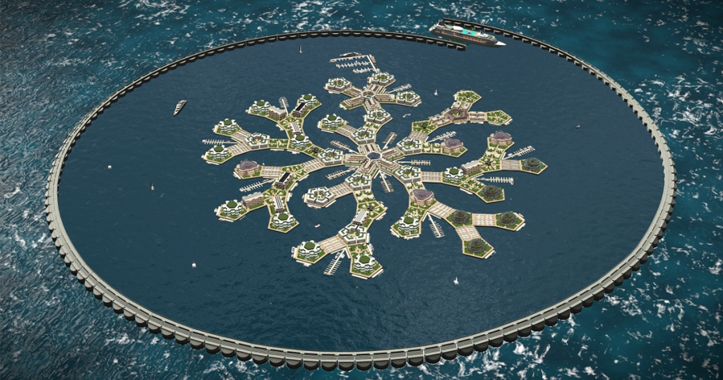 Worlds First Floating City Will Be Ready By 2020 And It Is Right Out Of A Science Fiction Novel