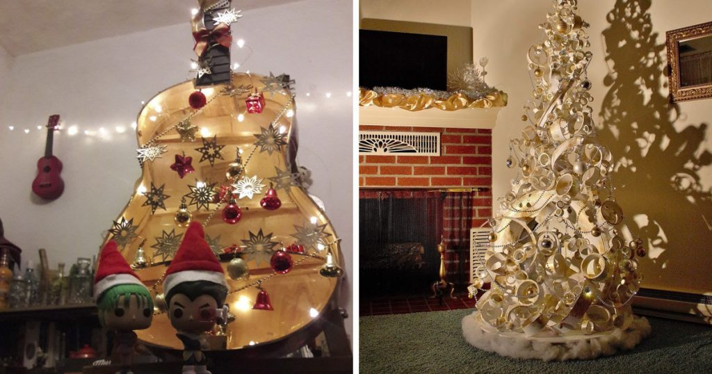 11 Extremely Creative Christmas Trees Will Give You Fresh Christmas Decoration